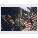 Chris Kraft flight director Apollo 11 celebration signed Genuine signature photo