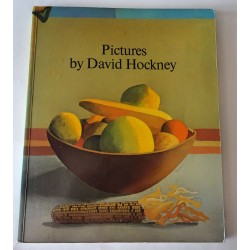 David Hockney Pictures signed genuine autograph book COA