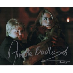 Doctor Who Photo Tom Baker and David Gooderson in person signed autograph