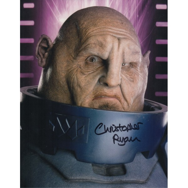 Doctor Who Christopher Ryan authentic genuine signed autograph photo AFTAL