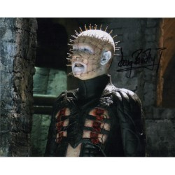 Doug Bradley Hellraiser genuine authentic signed autograph photo