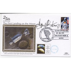 Eugene Krantz Apollo signed Genuine signature High Flight card COA