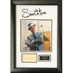 Frank Sinatra authentic signed genuine signature autograph display COA