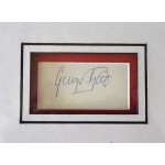 George Best Man United signed genuine signature autograph display COA