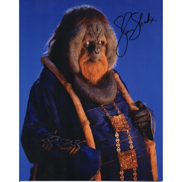 Glen Shadix Planet of the Apes genuine authentic autograph signed photo.