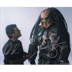 Ian Whyte Alec Gillis Predator genuine authentic autograph signed photo