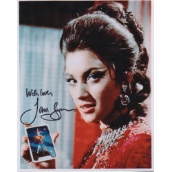 Jane Seymour James Bond authentic genuine signed photo COA UACC AFTAL