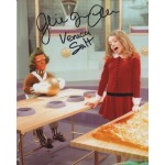 Julie Dawn Cole Veruca Salt  genuine signed authentic signature photo