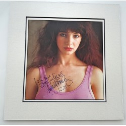 Kate Bush music signed genuine signature autograph image COA