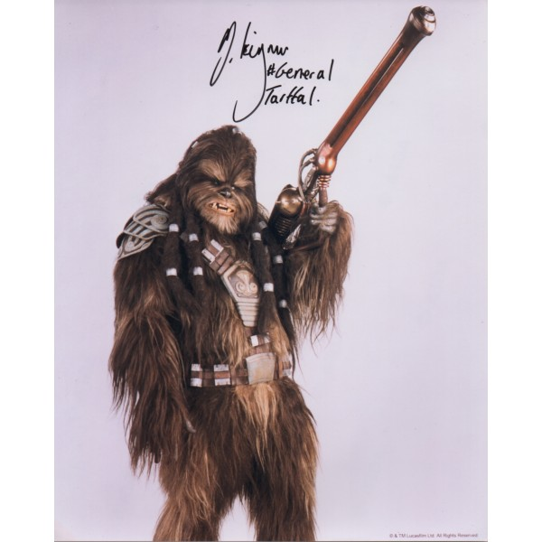 Michael Kingmar Tarfull Star Wars signed autograph photo UACC
