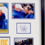 Molinari & Fleetwood golf Ryder Cup signed genuine signature autograph display COA