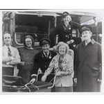 Reg Varney Stephen Lewis on the Buses signed authentic signature photo