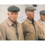Richard Wilson One foot in the grave authentic genuine signed autograph photo