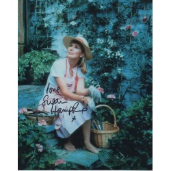 Susan Hampshire signed authentic autograph photo COA UACC