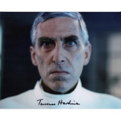 Terence Hardiman Demon Headmaster genuine authentic autograph signed photo