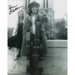 Tom Baker Doctor Who genuine authentic autograph signed photo 4