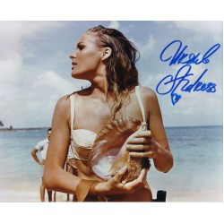 Ursula Andress James Bond authentic genuine signed photo COA UACC AFTAL