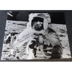 Alan Bean Apollo 12 authentic genuine signature signed photo COA AFTAL