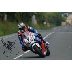 John McGuinness IOM TT genuine authentic autograph signed photo