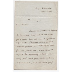 William Ewart Gladstone PM Politics genuine signed authentic autograph letter