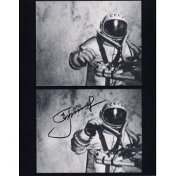 Alexei Leonov first place walk authentic signed Genuine signature photo