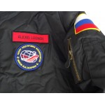 Alexei Leonov First Space Walk authentic signed Genuine signature flight jacket