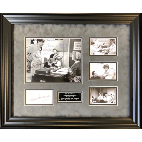 Tony Hancock Blood Donor authentic signed signature autograph display