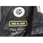 Fred Haise Apollo 13  authentic signed Genuine signature flight jacket