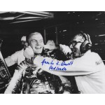 Guenter Wendt Apollo pad leader authentic signed Genuine signature photo