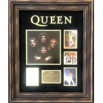 Queen Freddie Mercury authentic signed signature autograph display