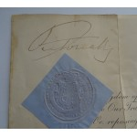 Queen Victoria genuine authentic autograph signed document coa