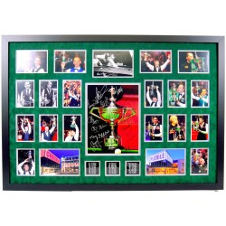 Snooker Multi Signed Sheffield Crucible Champions Autographs display