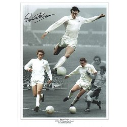 Spurs Martin Chivers Signed Football photo authentic autographM305