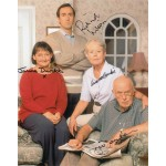 One Foot In The Grave Cast signed 10 x 8 colour photo AK05