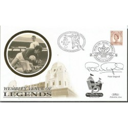 Peter Osgood signed Benham 1998 Wembley venue of legends FDC WD67