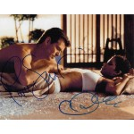 Pierce Brosnan and Halle Berry signed 10 x 8 colour photo AK15