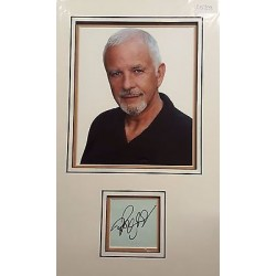 David Essex authentic signed autograph display OB209