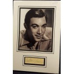 Anthony Quinn authentic signed autograph display OB233