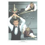 Steven Hendry Snooker Signed photo authentic autographM432