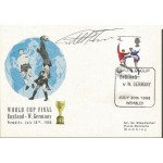 Geoff Hurst signed World Cup Final 1966 card FDC WD73