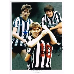 Peter Beardsley Signed Football photo authentic autographM238