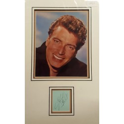 Frank Ifield authentic signed autograph display OB210