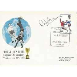 Ray Wilson signed World Cup Final 1966 card FDC WD74