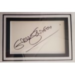 Greer Garson authentic signed autograph display OB128