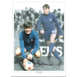 Bobby Tambling Chelsea Football authentic signed photo 2M579