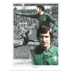 Peter Bonetti Chelsea Football authentic signed photoM577