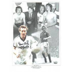 Kevin Beattie Signed Football photo authentic autographM283