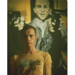 Ewan Mcgregor signed colour photo brilliant photo as Renton Trainspotting AK137