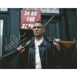 Vinnie Jones signed superb Lock Stock 2 Smoking Barrels signed colour photo AK62