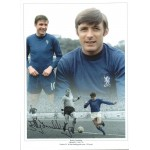 Bobby Tambling Chelsea Football authentic signed photoM578